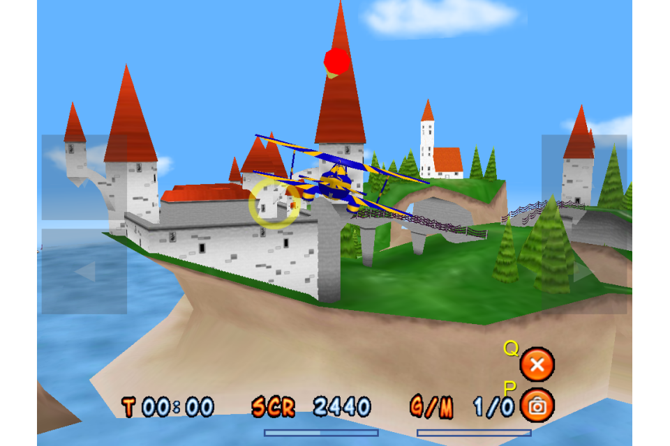 Screenshot 3D Super-G Stunt